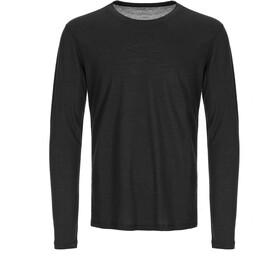 super.natural Base 140 Longsleeve Herr jet black